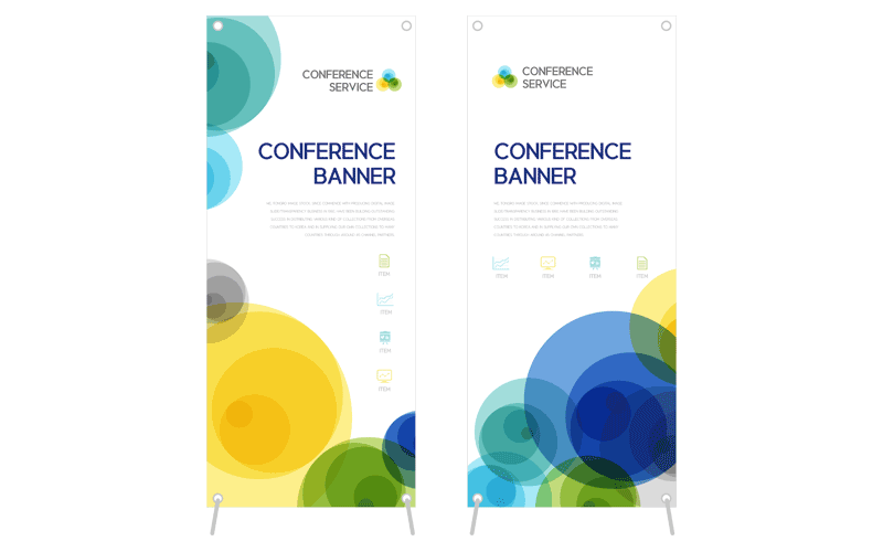 Big, bright banners give high impact promotion at low budget cost. These great attention-getters are especially well suited for short-term use, annual event reuse, or for outdoor advertising in high traffic areas. Our top quality banners are durable in any weather and are completely finished with grommets and ties for easy hanging.