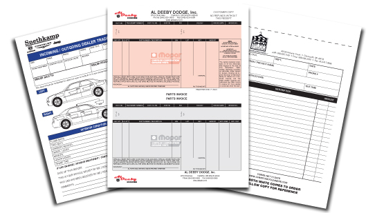 We can upgrade your business images with impressive designs for purchase orders, invoices, and other carbonless forms. In addition, we can produce medical or technical forms for specific uses.
