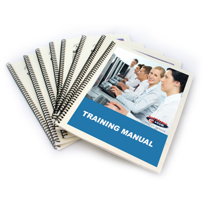 Organizing your information into a manual is an effective way to communicate with your audience. You can incorporate everything from basic black and white copies to full-color inserts and transparencies to custom designed index tabs and binders.